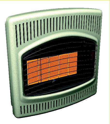 Comfort Glow Radiant Heater Crn30 Crp26