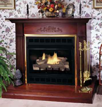 CGEFP33NRB / CGEFP33PRB Comfort Glow Vent Free Gas Fireplaces ...