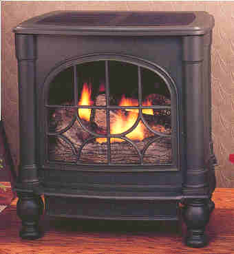 Comfort Glow cast iron stoves and gas logs @ FMConline